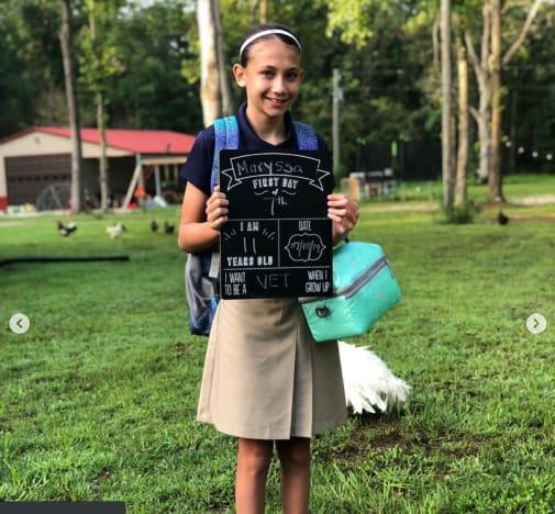 Maryssa Goes Back to School