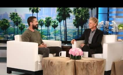 Shia LaBeouf to Ellen DeGeneres: Yeah, I've Done Some Dumb Things