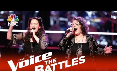 Hannah Kirby vs. Sarah Potenza (The Voice Battle Round)