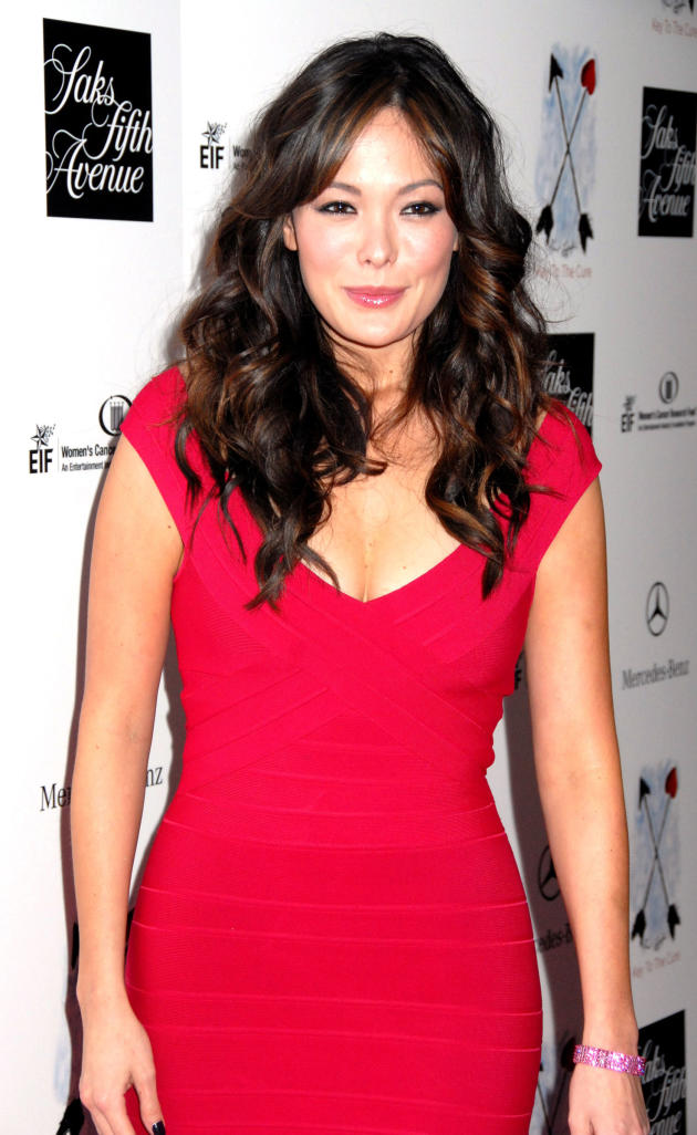 Lindsay Price Red Dress