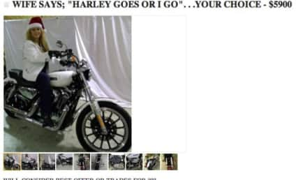 Man Told to Choose Between Wife and Harley, Puts Both Up For Sale on Craigslist