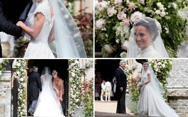 Pippa wedding dress
