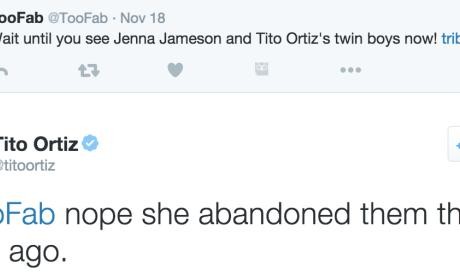 Tito Ortiz Tweets About Jenna Jameson's Parenting