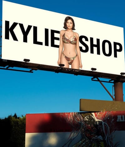Kylie Jenner's Billboard