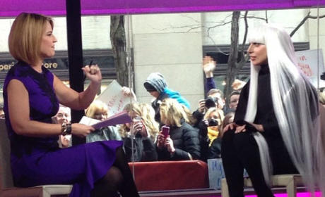 Lady Gaga on Today