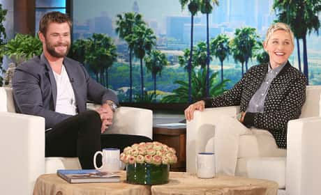 Chris Hemsworth: My Daughter Wants a Penis!