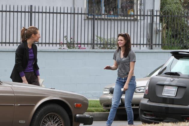 Kristen Stewart Car Accident Pic