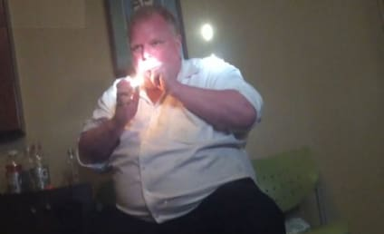 Rob Ford Crack Video Surfaces; Late Mayor Hits Pipe, Rips P.M.
