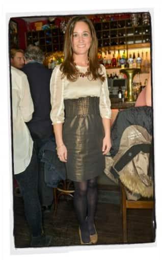Pippa Middleton High-Waisted Skirt