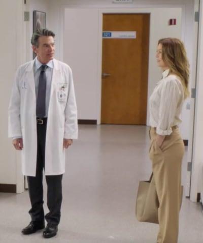 Peter Gallagher sur Grey's Anatomy