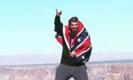 David Eason Flaunts Confederate Flag, Taunts Haters