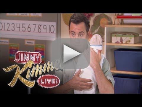 Jimmy Kimmel Receives Parenting Advice