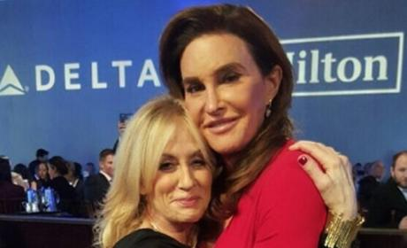 Caitlyn Jenner and Judith Light