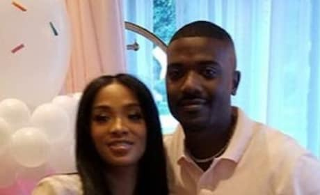 Ray J with His Literal Love
