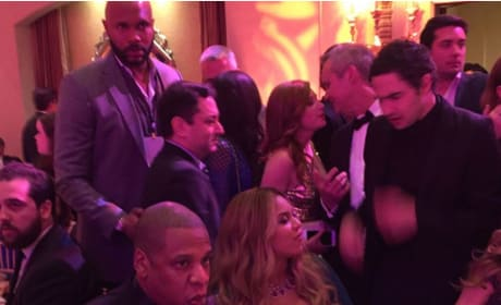 Beyonce and Jay Z Party