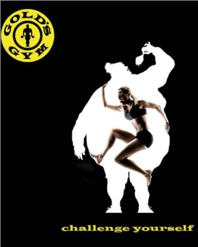 Gold's Gym Fat Woman Ad