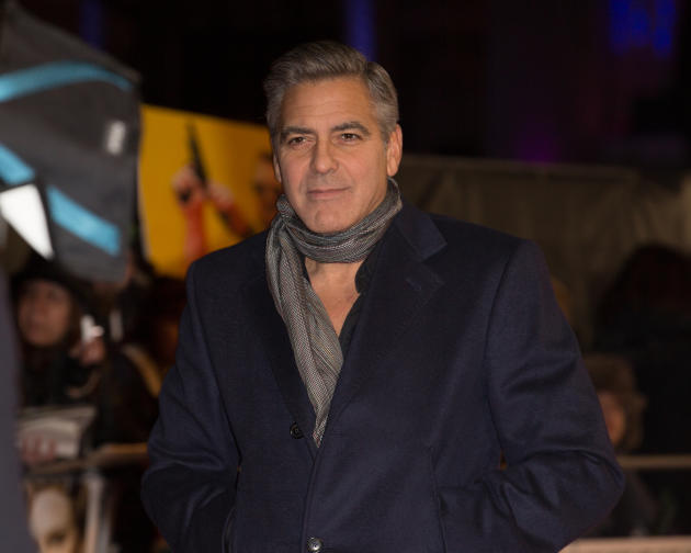 George Clooney in the UK