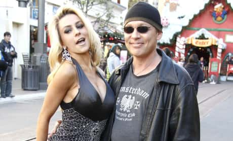 Courtney Stodden with Doug Hutchison