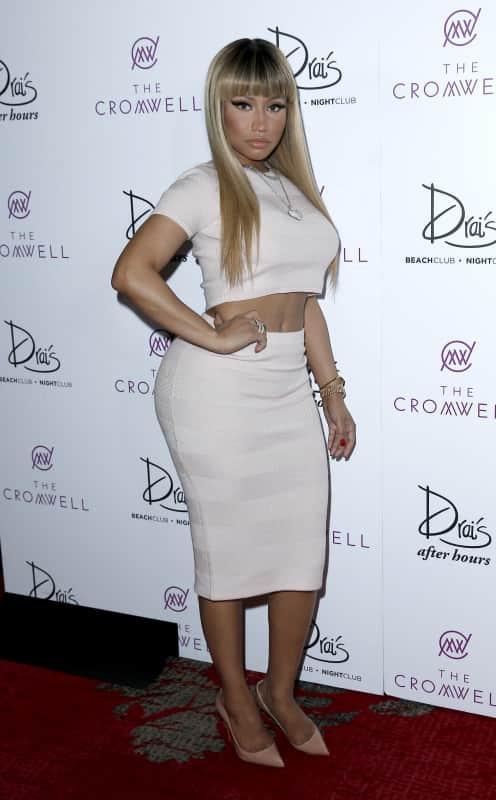 Nicki Minaj Performs at Drai's Las Vegas