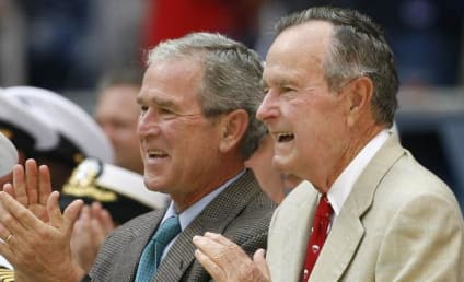 Bush Family Emails Hacked; George W. Bush Bathtub Self-Portraits Allegedly Found