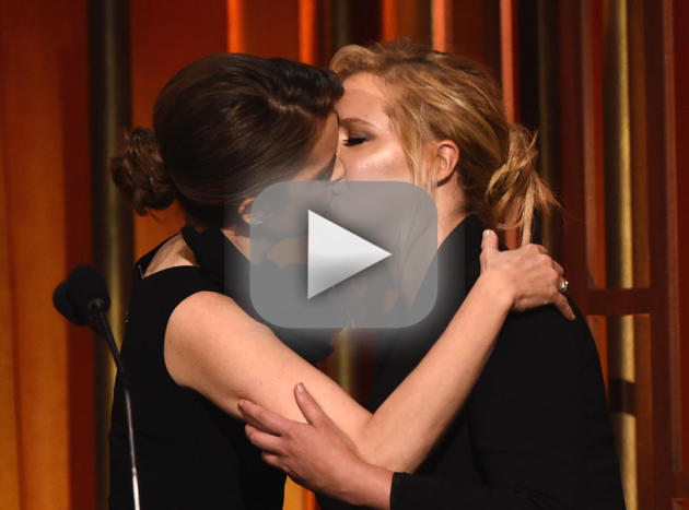 She Made Out with Tina Fey!