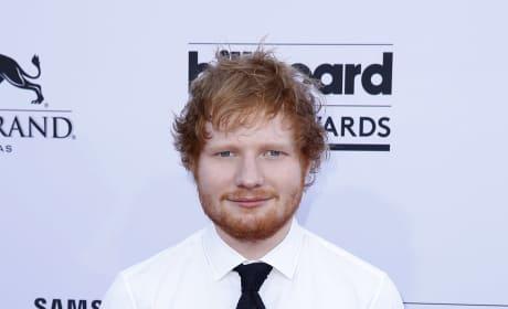 Ed Sheeran at Billboard Music Awards