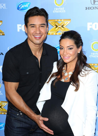 Mario Lopez, Courtney Mazza Picture