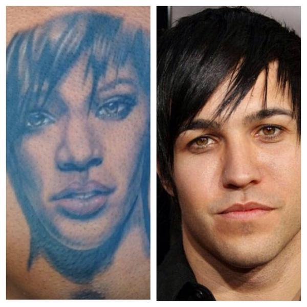 Why Does Rihanna Look Like Emo Pete Wentz Circa 2005?
