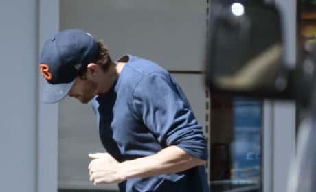Ashton Kutchers Leaves AM/PM in LA