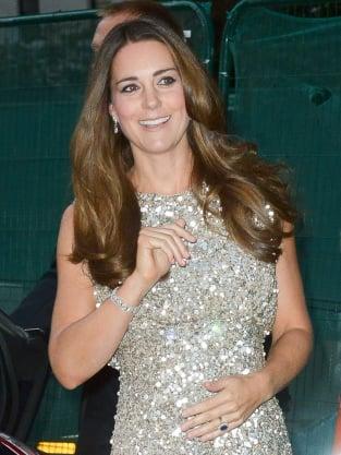 Kate Middleton on Red Carpet Pic