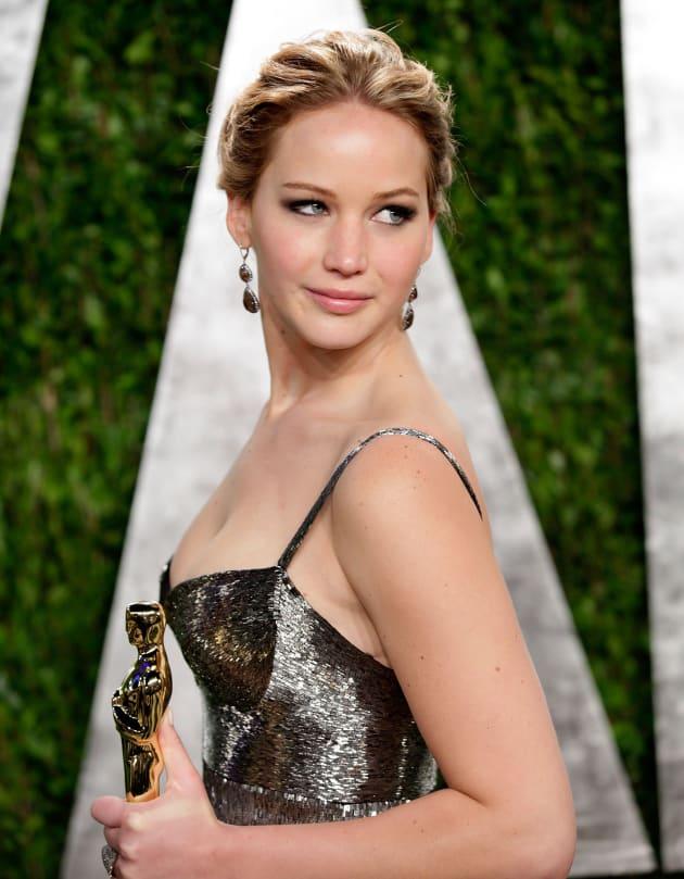 Jennifer Lawrence Gets Fancy