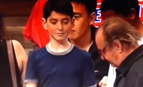 Jack Nicholson Snubs Young Fan