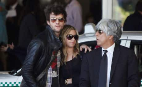 Ashley Tisdale and Martin Johnson