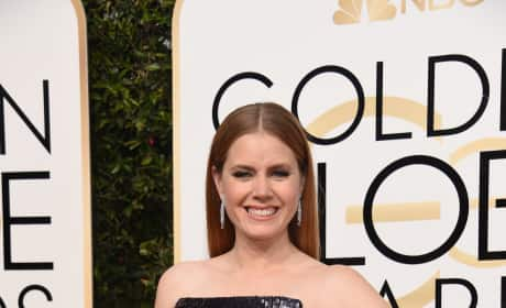 Amy Adams at the Globes