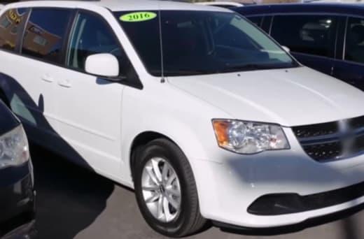 white minivan for sale (Kalani and Asuelu)