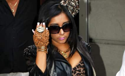 Snooki Goes Makeup-Free