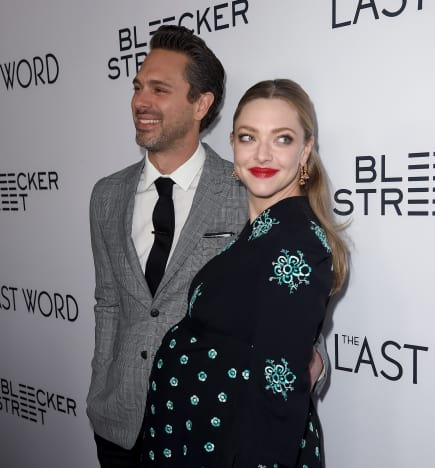 Thomas Sadoski and Amanda Seyfried Pic