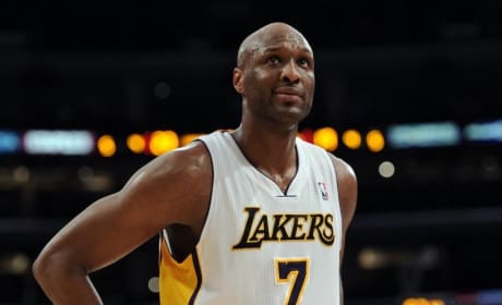 Lamar Odom: Sobering Up for His Kids