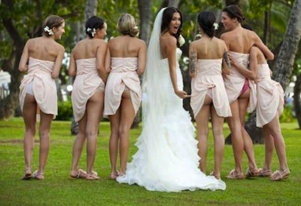 Wedding Photo Flashing