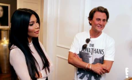 Jonathan Cheban Replaces BFF Kim Kardashian With Her Lookalike: WATCH