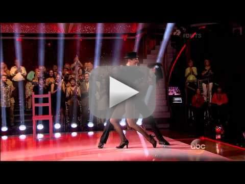 Candace Cameron Bure & Mark Ballas - Jazz