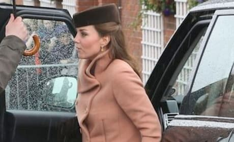 Kate Middleton Steps Out