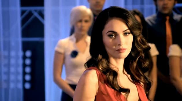 Megan Fox in a Commercial