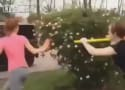 Shovel Girl Fight Video: Both Participants Charged with Disorderly Conduct