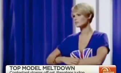 Louise Watts, America's Next Top Model Contestant, Storms Off Stage in EPIC Meldtown