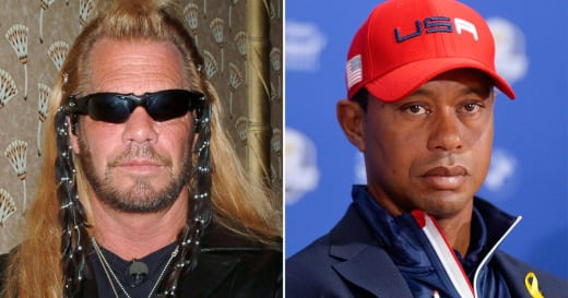 Dog the Bounty Hunter-Tiger Woods