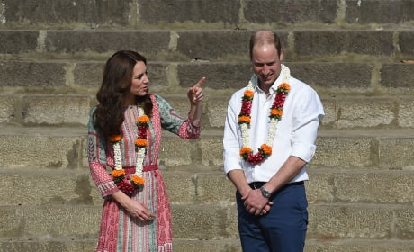 William and Kate Visit Banganga Water Tank