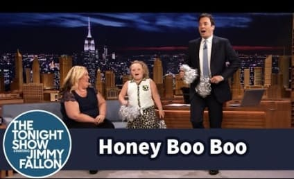 Honey Boo Boo Shows Off Cheerleading Skills on The Tonight Show