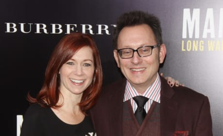 Michael Emerson and Carrie Preston Photo