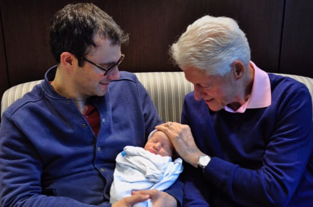 Bill Clinton, Grandson